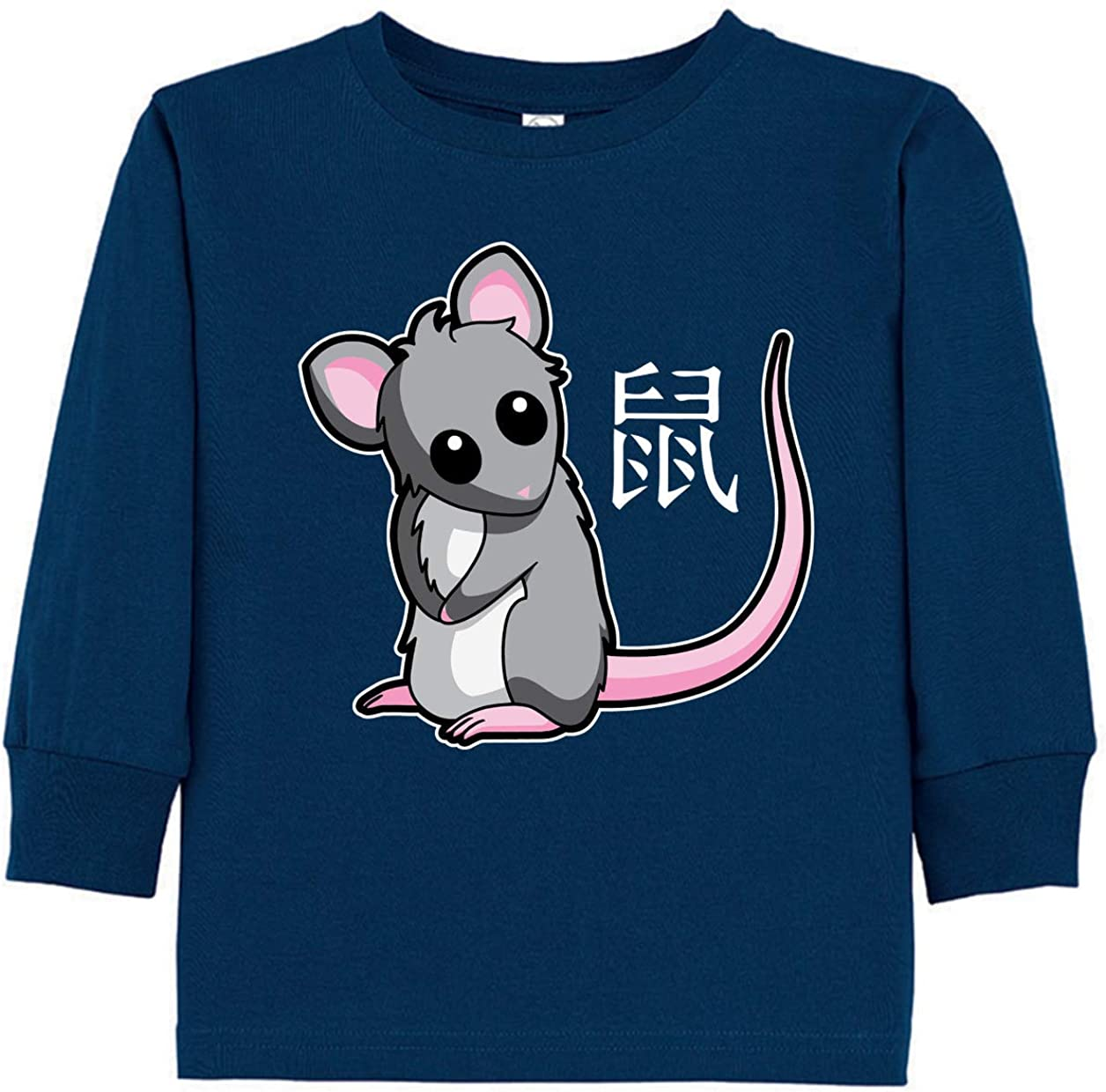 Tenacitee Toddlers Chinese Year of The Rat Long Sleeve T-Shirt