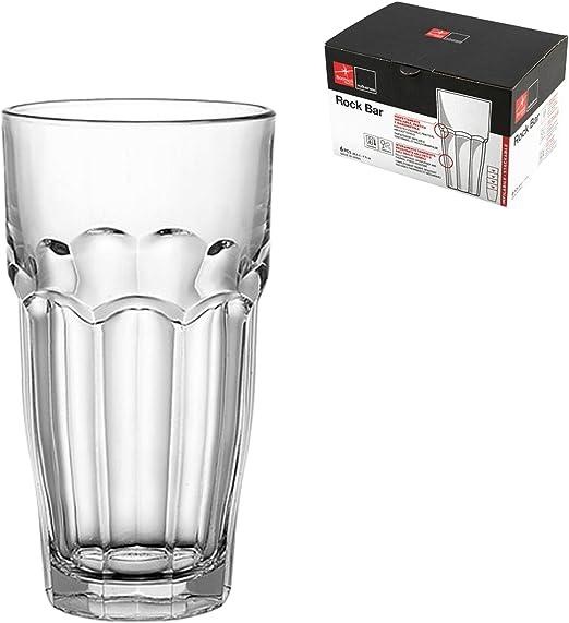 Rocco Bormioli 5154329 Siena. Pack de 6 Vasos de Vidrio, 28,5 cl, 6 Unidades: Amazon.es: Hogar