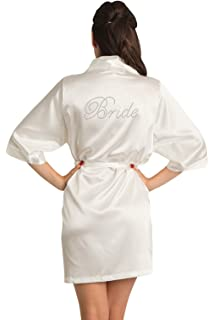 cb79021aa65 Zynotti Women s Rhinestone Bride Bridesmaid Maid of Honor Mother of The Bride  Mother of The Groom