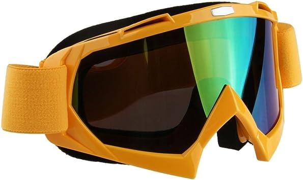 Possbay Motorrad Brille Anti Uv Staubdicht Wintdicht Skibrillen Motocross Dirtbike Fahrrad Off Road Schutzbrille Auto