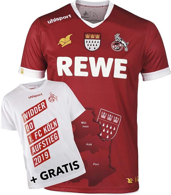 1 XL FC K/öln T-Shirt Aufstieg 2019 Gr