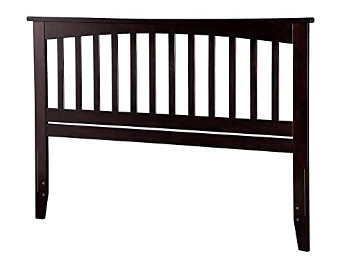 Atlantic Furniture Mission Headboard, King, Espresso