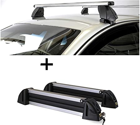 Vdp Skiträger Alu 4 Paar Ski Dachträger K1 Pro Aluminium Kompatibel Mit Mazda Cx 5 5türer 12 15 Auto