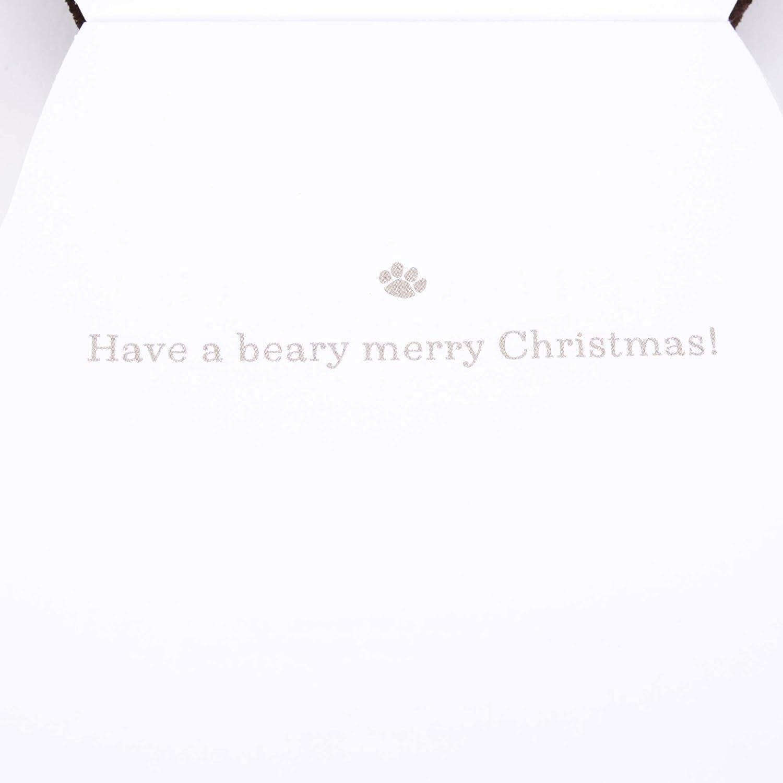 Hallmark Signature Christmas Card for Kid Dinosaur with Santa Hat