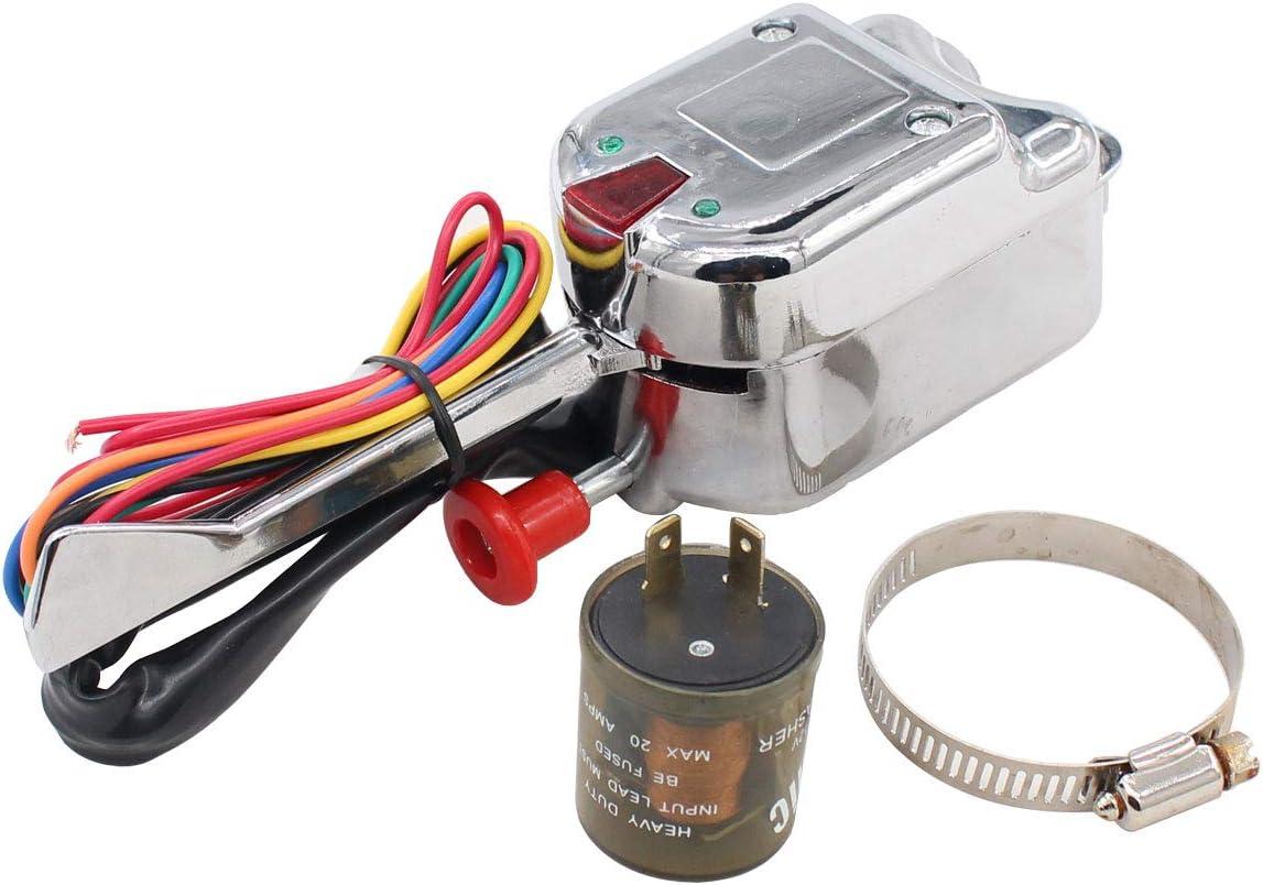 XtremeAmazing 40V Universal Street Hot Rod Turn Signal Switch with ...