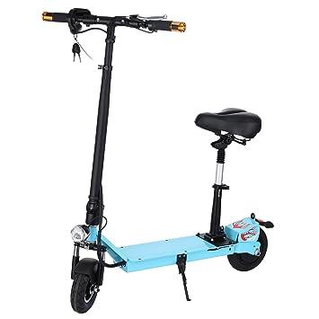AIMADO E-Scooter Patinetes Electricos con Asiento Plegable ...