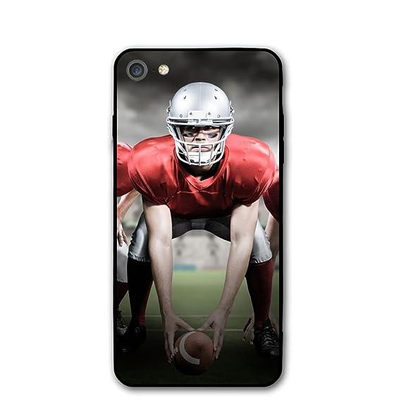 c35cbccf0f8f4 Amazon.com: American Football IPhone 7 Case,iPhone 8 Case Printing ...