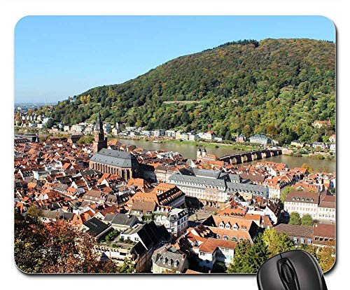Mouse Pads - Heidelberg Landscape Germany Travel Attraction