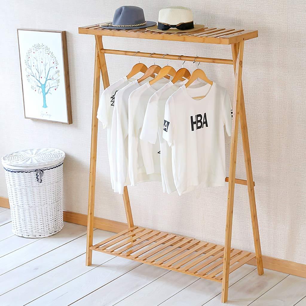 コートラック床材ソリッドウッド衣類ハンガーシングルポール服の木シンプル寝室に適した居間やその他のシーン (色 : 100cm) B07GTS9SZB 100cm