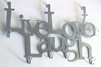 Steelprint De Live Love Laugh Turgarderobe Tur Garderoben Haken
