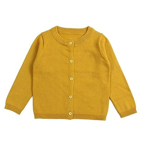 hibote Chaqueta de punto para bebé - infantil algodón manga ...