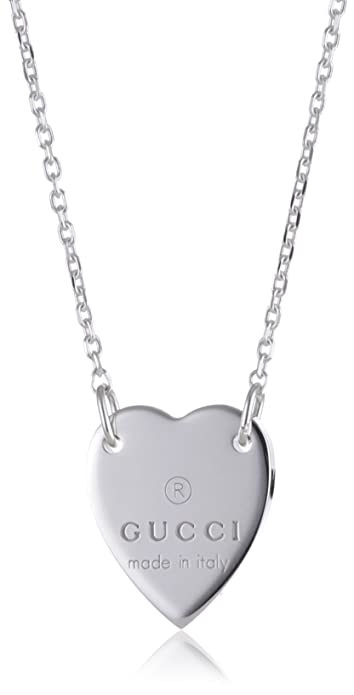 Gucci YBB223512001 Silver Necklace 9M3rB1x2g0