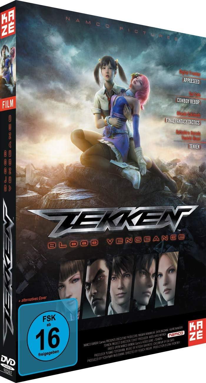 Tekken Blood Vengeance Amazon Co Uk Dvd Blu Ray