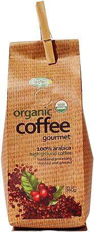 Enature Café Orgánico Molido, Natural, 340 g