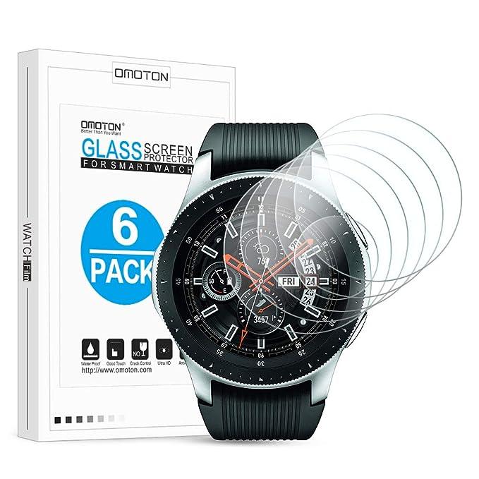 OMOTON - Protector de Pantalla para Galaxy Watch de 46 mm y Gear ...