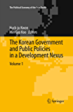 The Korean Government and Public Policies in a Development Nexus, Volume 1 (The Political Economy of the Asia Pacific)