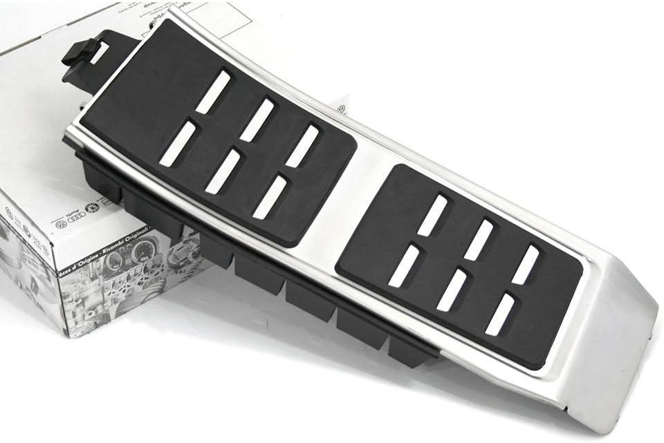 Audi A6 A7 4G Sport Fu/ßst/ütze Original Interieur Tuning Abdeckung Kappe Alu