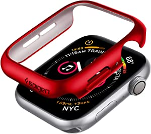 Spigen Thin Fit Designed for Apple Watch Case for 40mm Series 6/SE/5/4 - Red