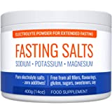 Fasting Salts: Sodium, Potassium, Magnesium. Pure Electrolyte Powder for Extended Fasting. Zero Additives: Free from All Fill