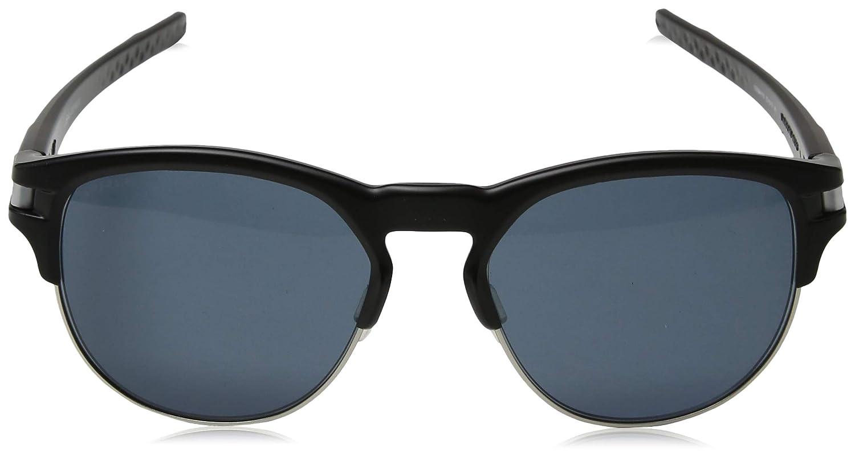 Óculos Oakley Latch Key L Matte Black W Violet Iridium  Amazon.com.br   Amazon Moda f1b6ad2a5ad