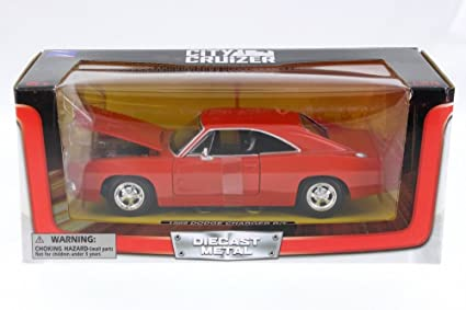 Amazon.com: 1969 Dodge Charger R/T, Naranja – New Ray ss ...