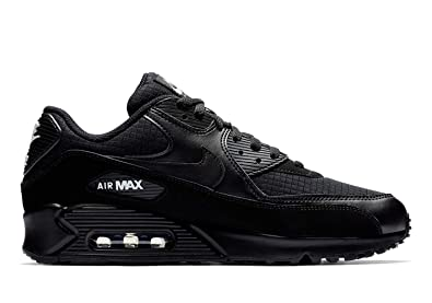 the best attitude e3c6a 03dea Image Unavailable. Image not available for. Color  Nike Mens Air Max 90  Essential Running Shoes Black White AJ1285-019 Size 10.5