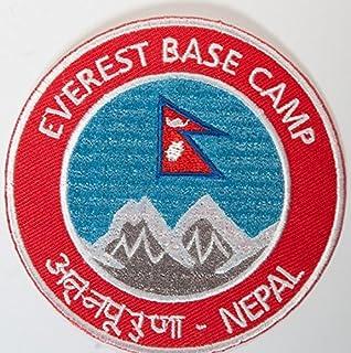 Monte Everest Nepal Base Camp parche 9 cm bordado escudo del Real Mallorca montañismo Souvenir de viaje de…