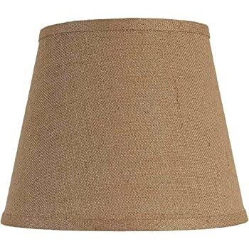 Urbanest burlap drum lamp shade 12 inch by 12 inch by 10 inch better homes and gardens burlap drum style lamp shade home modern decorative interior light durable mozeypictures Images