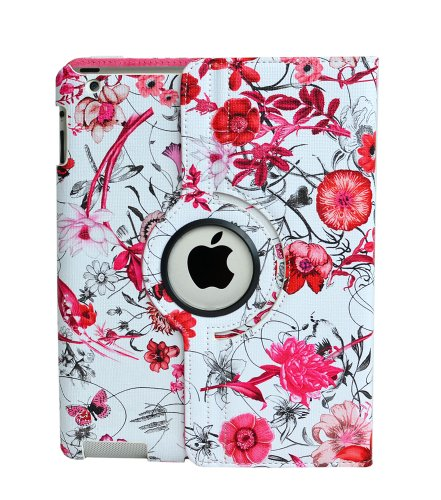 inShang Case for iPad 2 iPad 3 iPad 4 Premium PU Leather Mul