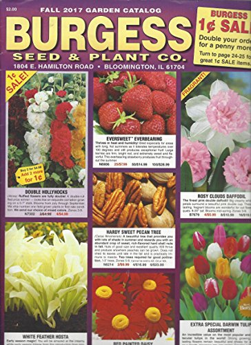 Burgess Seed & Plant Co. Fall 2017 Garden Catalog (Plant And Seed Burgess Co)