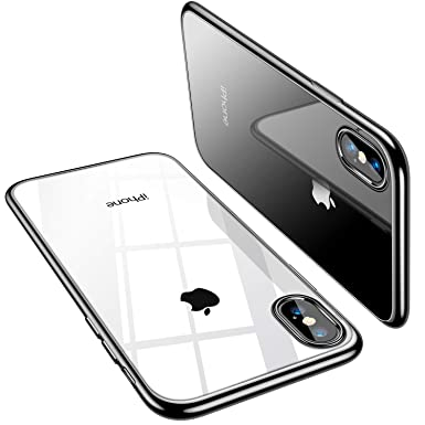 the best attitude 8654f e0beb TORRAS Clear iPhone X Case, [Precisely for iPhone X ONLY], Anti-Yellow Slim  Thin Fit with Stylish TPU Gel Bumper Reinforced iPhone X Phone Case Cover  ...