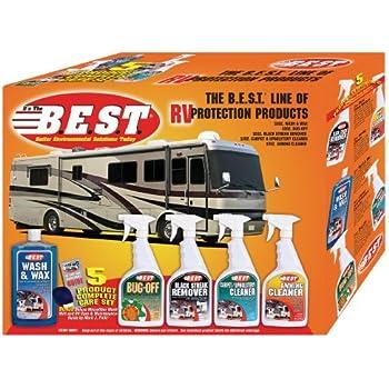 Amazon Com B E S T 99001 Rv Cleaning Kit 5 Piece