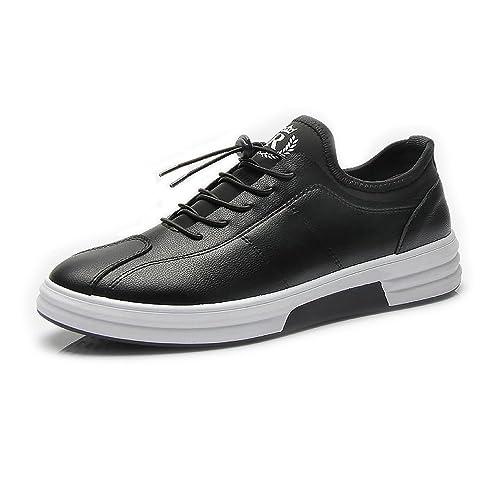Otoño/Verano 2018 Zapatos Deportivos Planos para Hombres Mocasines Casuales Zapatos con Cordones Ajustados Zapatos