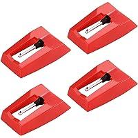 Voor LP Record Speler Phono Stylus Naald Draaitafel Keramische Cartridge Naald Vervanging
