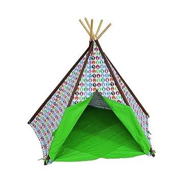 Ting Kinder Spielzelt Eine Vielzahl Von Mustern Indische Zelt Fünf