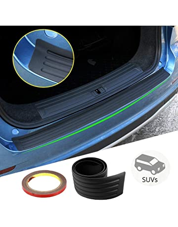 Easy Install Kit Included carmats4u Black Carbon Vinyl Bumper Lip Protector//Self Adhesive