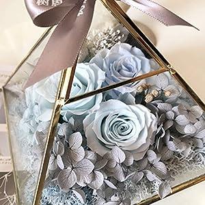 FYYDNZA Immortal Flower 520 Gift Glass Cover Gift Lamp Girlfriend Birthday 66