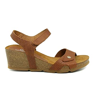 ada2ed82b Yokono Brown Dark Skin Sandal 073 Cadiz 41 Brown  Amazon.co.uk ...