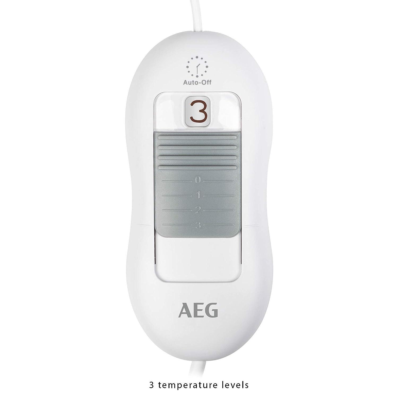 AEG HK 5646 - Almohadilla eléctrica, 3 niveles temperatura, 30 x 40 cm, 100 W: AEG: Amazon.es: Salud y cuidado personal
