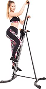 FEIERDUN Vertical Climber, Climbing Machine - Full Total Body Workout Fitness Folding Cardio Climber Exercise Machine (C01)