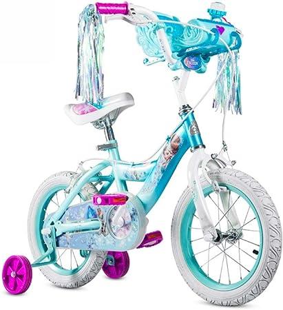 Ppy778 Bicicleta Infantil Bicicleta de montaña para niños Bicicleta de 12 Pulgadas de Dibujos Animados Lindo Cochecito de Juguete Color : Blue, Size : 12INCH(92CM*20CM*54CM): Amazon.es: Deportes y aire libre