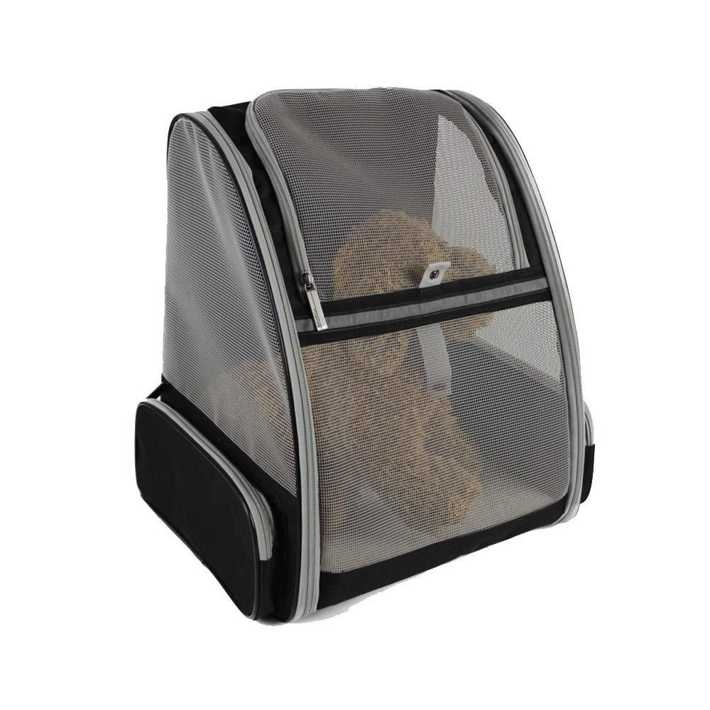 Zaino per borsa da compagnia Zaino portamonete Soft-Sided per cani e gatti di piccola taglia By- Approvato per le compagnie aeree, progettato per viaggi, escursioni, passeggiate e all'aperto Trasporta