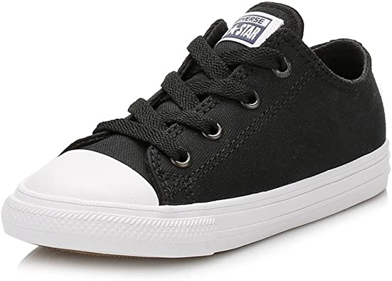 Converse Kids/' Chuck Taylor All Star Canvas Low Top Sneaker White 7J256