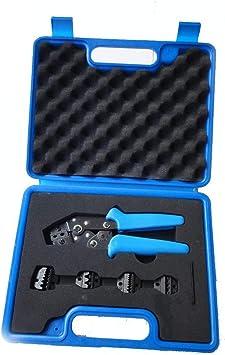 Pinze piegatrici Alicates que prensan mini kits de herramientas que combinan que prensan en la caja plástica, con clases de juegos de matrices Mango antideslizante resistente: Amazon.es: Bricolaje y herramientas