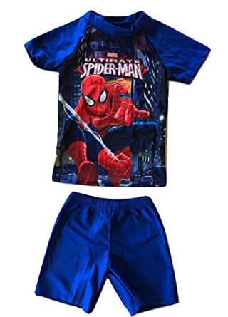 201e89724c Amazon.com: L C Boutique Boys Two Piece Swimsuit Rash Guard Set in Sizes to  fit Ages 2 to 11: Clothing