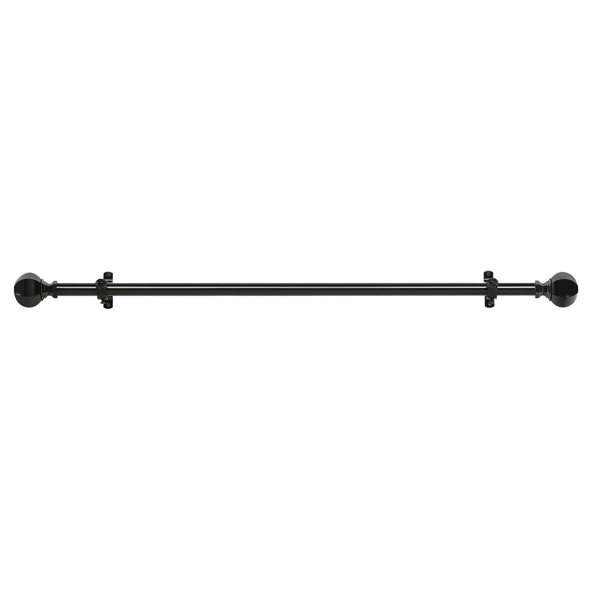 Achim Home Furnishings Buono II Decorative Rod and Finial, 66'' up to 120'', Regent by Achim Home Furnishings (Image #2)