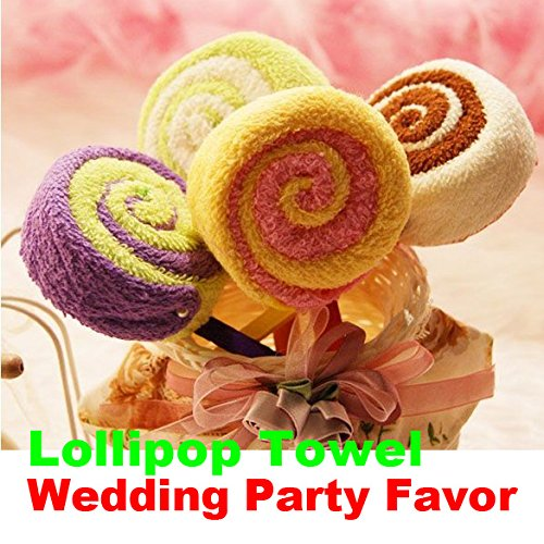 Amazoncom Matefield Washcloth Towel Gift Lollipop Towel Bridal