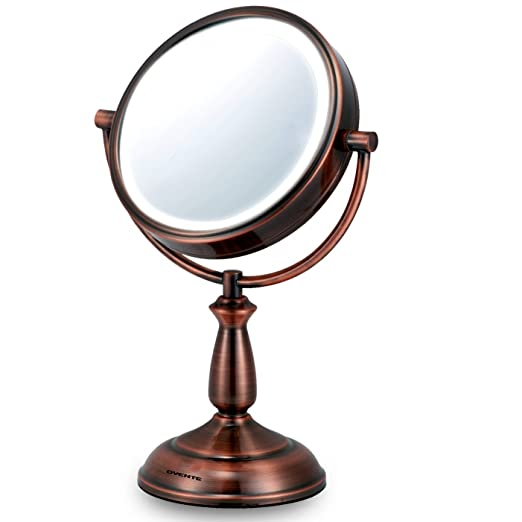 Ovente LED 8x Magnifying Makeup Mirror - 6.0