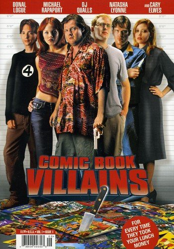 Comic Book Villains from LIONSGATE