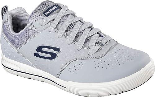 92a385c61240 Skechers Men s Arcade Ii Magavin Low-Top Sneakers  Amazon.co.uk ...